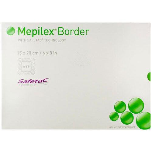 Molnlycke 295600 Mepilex Border Silicone Foam Dressing (6 in. x 8 in.)-Preferred Medical Plus
