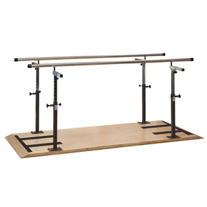 Clinton Industries 32007/32010 Platform Mounted Parallel Bars-Preferred Medical Plus
