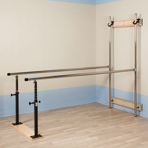 Clinton Industries 33307 Wall Mounted Folding Parallel Bars-Preferred Medical Plus