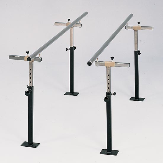 Clinton Industries 34010/34012 Floor Mounted Parallel Bars-Preferred Medical Plus