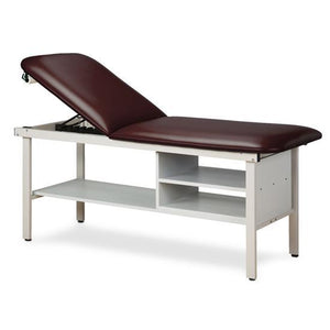 Clinton Industries 3030 ETA Alpha Series Treatment Table with Shelving-Preferred Medical Plus