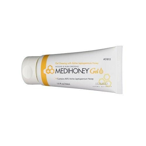 Derma Sciences 31815 Medihoney Wound & Burn Dressing Gel 1.5 oz.-Preferred Medical Plus