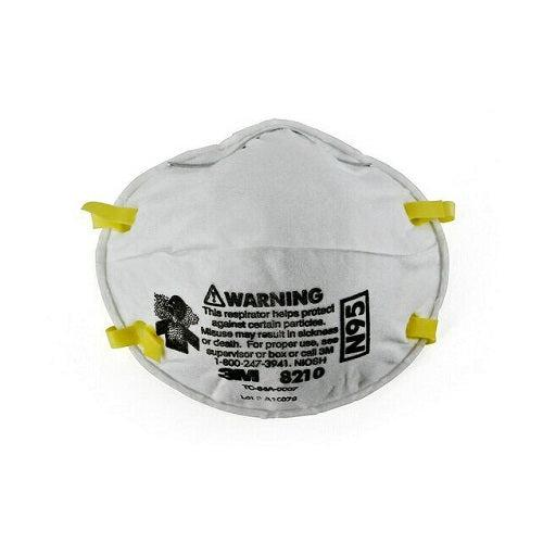 3M 8210 N95 Particulate Respirator Mask-Preferred Medical Plus