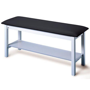 Hausmann Industries 4024 H-Brace Treatment Table with Shelf-Preferred Medical Plus