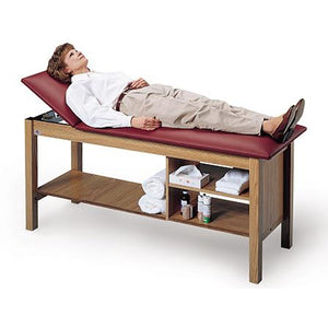 Hausmann Industries 4041 Treatment Table with Open Storage-Preferred Medical Plus