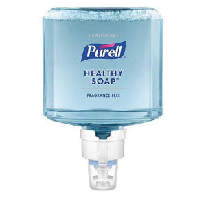 Gojo Purell Healthy Soap Fragrance-free Foam for ES8 Dispensers 1200 ml (Pack of 2)-Preferred Medical Plus