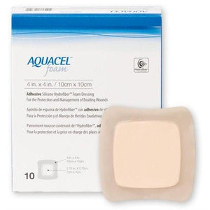 Convatec 420680 Aquacel Foam Foam Dressing (4 in. x 4 in.)-Preferred Medical Plus