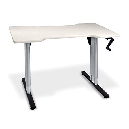 Hausmann Industries 4343 Hand Therapy Table with Hydraulic Lift-Preferred Medical Plus