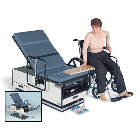 Hausmann Industries 4460 Powermatic Wheelchair Accessible Exam Table-Preferred Medical Plus