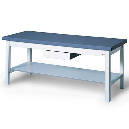 Hausmann Industries 4524/4541 Standard Treatment Table with Shelf-Preferred Medical Plus