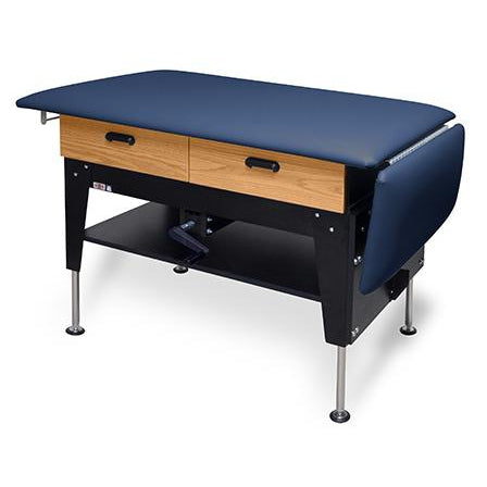 Hausmann Industries 4701/4704 2-in-1 Treatment Table/Exam Table with Drawers-Preferred Medical Plus