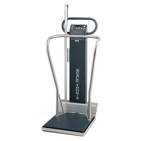 Welch Allyn 5002-XX-X Mobile Stand-on Scale with Standard Weight-Preferred Medical Plus