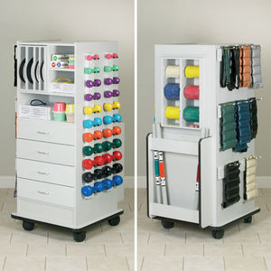 Clinton Industries 5140 Vanguard Series Exercise Storage Unit-Preferred Medical Plus