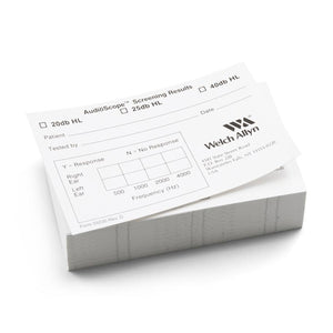 Welch Allyn 55230 AudioScope 3 Recording Forms (Box of 1000)-Preferred Medical Plus