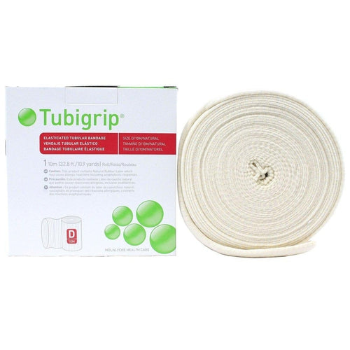 Molnlycke 1437 Tubigrip Tubular Bandage Size D Natural (3 in. x 10M)-Preferred Medical Plus