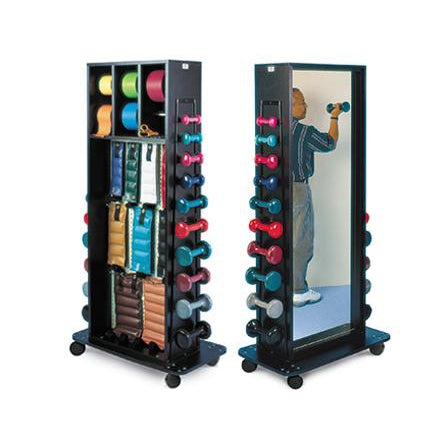 Hausmann Industries 5560 Multi-Purpose Combination Weight Rack-Preferred Medical Plus