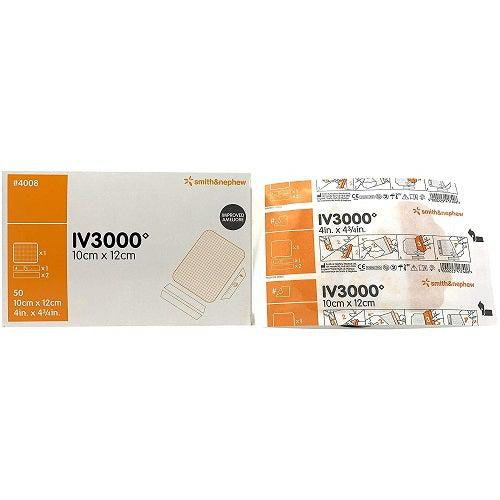 Smith & Nephew 66024008 IV3000 IV Dressing (4 in. x 4¾ in.)-Preferred Medical Plus
