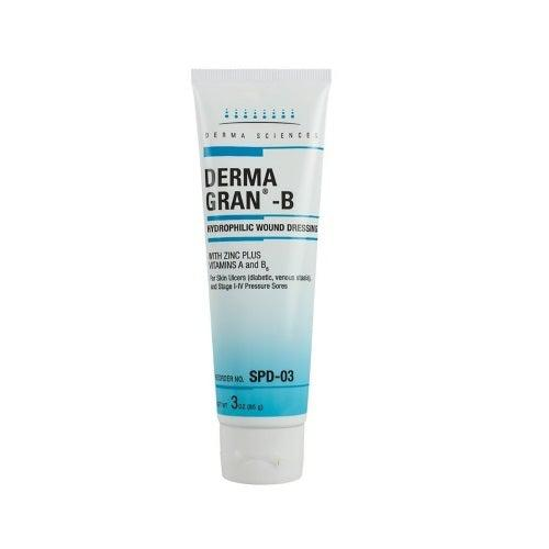 Derma Sciences SPD03 Hydrophoiliec Wound Dressing (3 oz. Tube)-Preferred Medical Plus