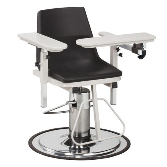 Clinton Industries 6330-P H-Series Blood Drawing Chair-Preferred Medical Plus