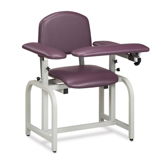 Clinton Industries 66010/66020 Lab X Series Padded Blood Drawing Chair-Preferred Medical Plus