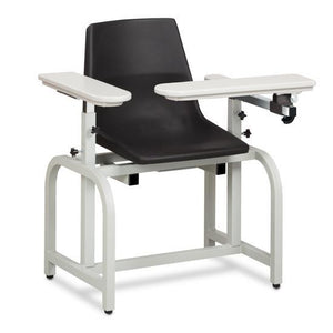 Clinton Industries 66060-P Standard Series Blood Drawing Chair with Padded Arm Option-Preferred Medical Plus