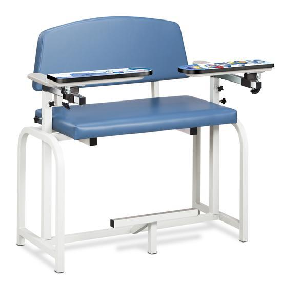 Clinton Industries 66099 Pediatric Extra-Wide Blood Drawing Chair-Preferred Medical Plus
