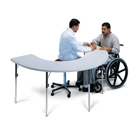 Hausmann Industries 6674 Horseshoe Therapy Table-Preferred Medical Plus