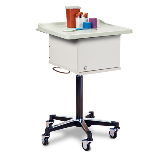 Clinton Industries 67200 Two-Bin Phlebotomy Cart-Preferred Medical Plus
