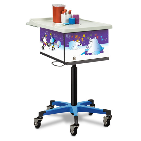 Clinton Industries 67231 Pediatric Phlebotomy Cart-Preferred Medical Plus