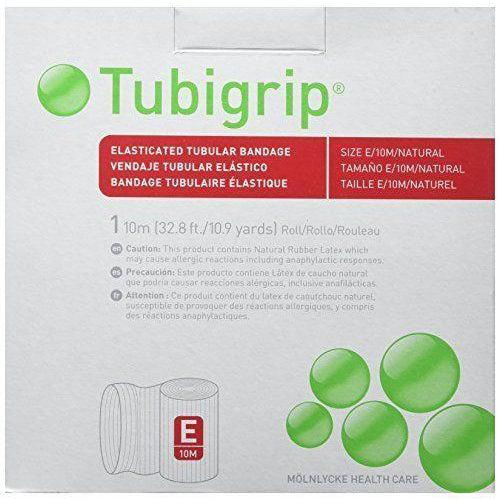 Molnlycke 1434 Tubigrip Tubular Bandage Size E Natural (3½ in. x 10M)-Preferred Medical Plus