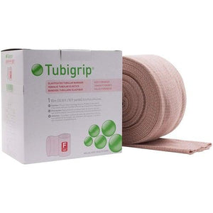 Molnlycke 1452 Tubigrip Tubular Bandage Size F Beige (4 in. x 10M)-Preferred Medical Plus