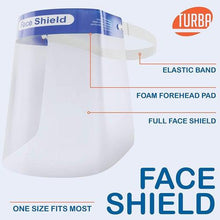 Turba Reusable Safety Face Shields (Case of 200)-Preferred Medical Plus