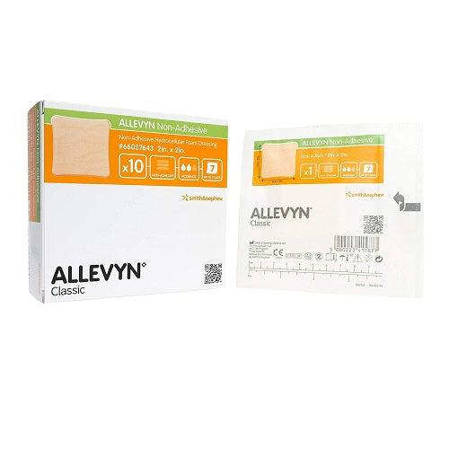 Smith & Nephew 66027643 Allevyn Non-Adhesive Wound Dressing (2 in. x 2 in.)-Preferred Medical Plus