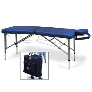 Hausmann Industries 7604-752 Portable Massage Table-Preferred Medical Plus