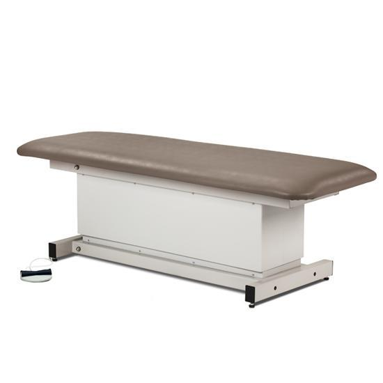 Clinton Industries 81100 Shrouded Power Exam Table with One Piece Top-Preferred Medical Plus