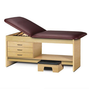 Clinton Industries 9133 Treatment Table with Drawers and Stool-Preferred Medical Plus