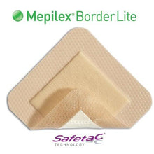 Molnlycke 281200 Mepilex Lite Silicone Foam Dressing With Border (3 in. x 3 in.)-Preferred Medical Plus