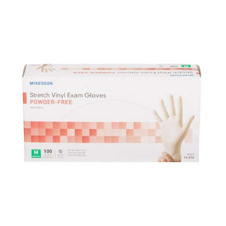 McKesson Vinyl Gloves Size Medium (Case of 1000)-Preferred Medical Plus