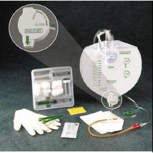 Bard 907516 Safety-Flow Indwelling Catheter Tray 16 FR (Case of 10)-Preferred Medical Plus