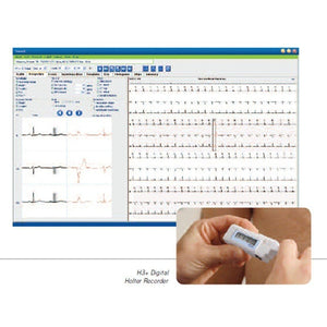 Welch Allyn BURV53H-1 Burdick Vision Express Holter Analysis System-Preferred Medical Plus