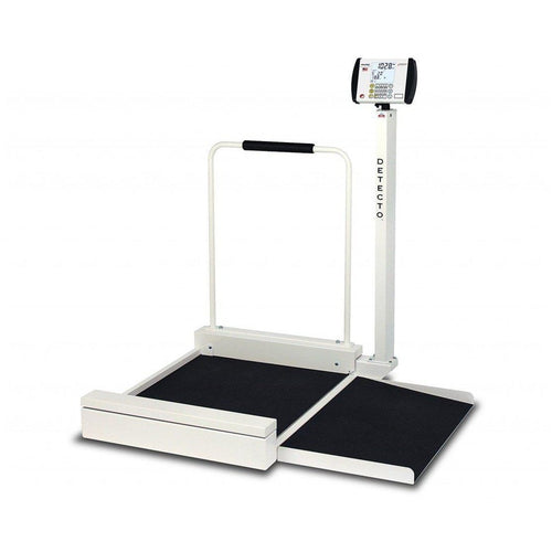 Detecto 6495 Digital Stationary Wheelchair Scale-Preferred Medical Plus