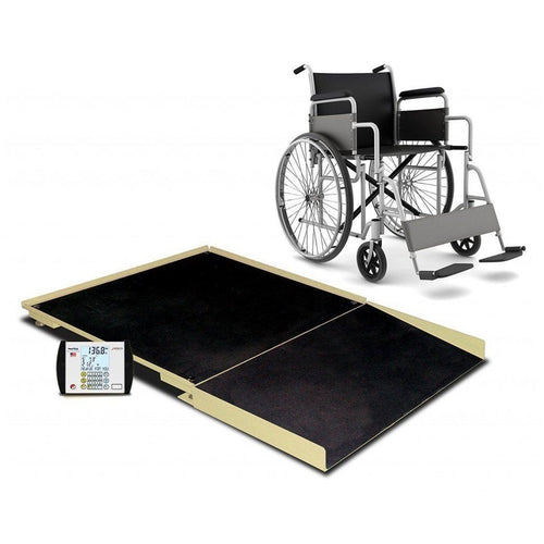 Detecto FHD-133-II Portable Wheelchair Scale-Preferred Medical Plus