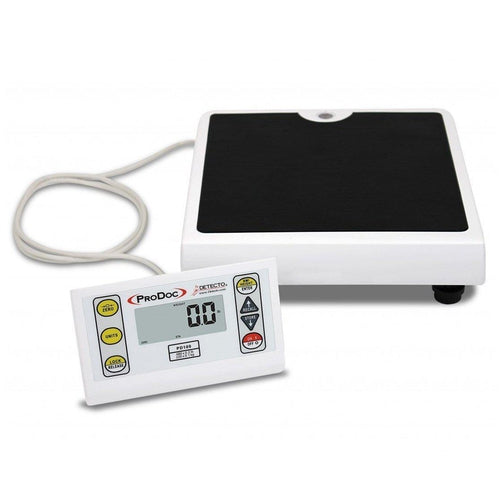 Detecto PD100 ProDoc Portable Digital Scale with Remote Display-Preferred Medical Plus