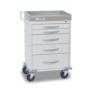 Detecto RC333369WHT Rescue Series General Purpose Medical Cart-Preferred Medical Plus