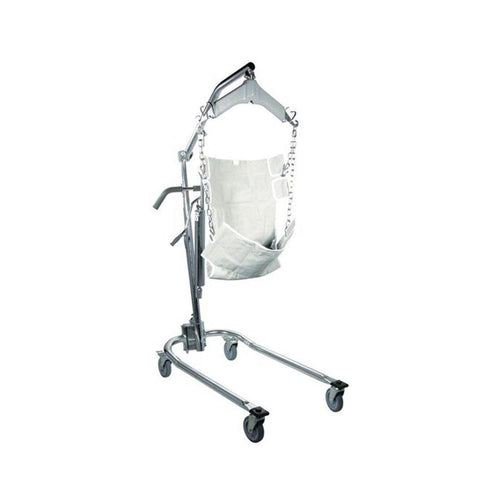 Drive Medical 13023 Hydraulic Deluxe Patient Lift with 6 Point Swivel Bar-Preferred Medical Plus