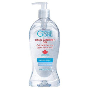 Germs Be Gone 15 Oz Gel Hand Sanitizer (Case of 12)-Preferred Medical Plus