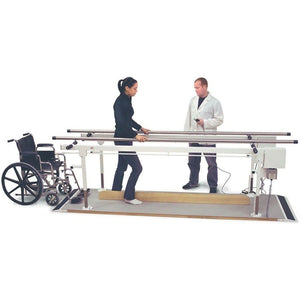 Hausmann Industries 1361 Adjustable Parallel Bars-Preferred Medical Plus