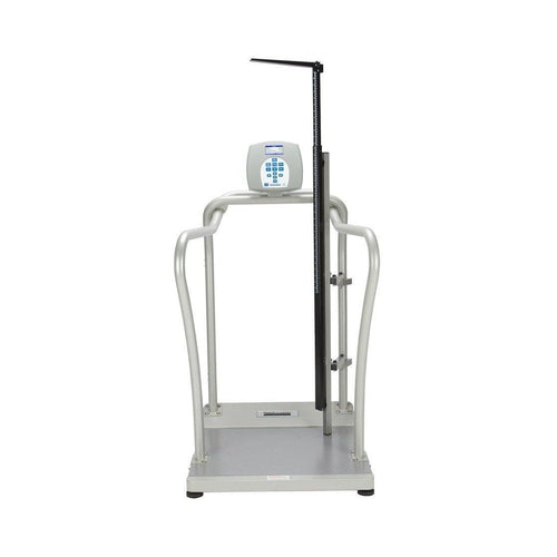 Health O Meter 2101KLHR Professional Digital Hand-Rail Platform Scale-Preferred Medical Plus