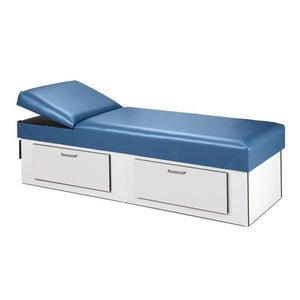 Clinton Industries 3713 Apron Recovery Couch with Drawers-Preferred Medical Plus