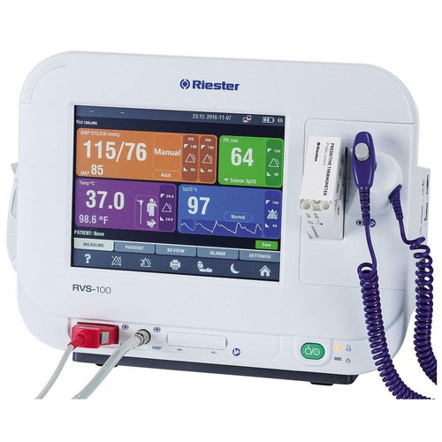 Riester 1960-RRXXU RVS-100 Advanced Vital Signs Monitor-Preferred Medical Plus